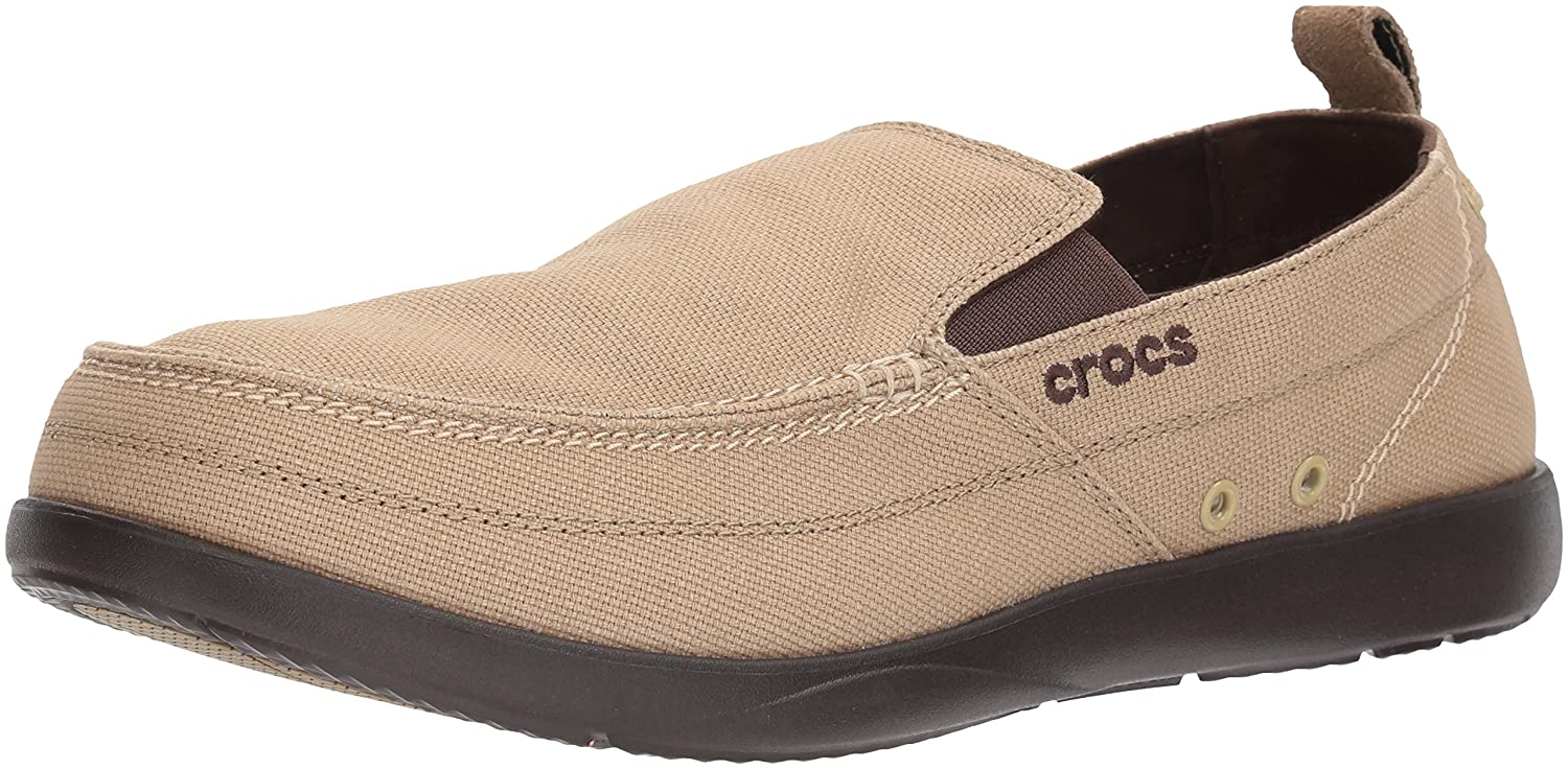 39bf8af11e01 crocs Men s Walu Men Canvas Loafers and Mocassins  Buy Online at Low Prices  in India - Amazon.in
