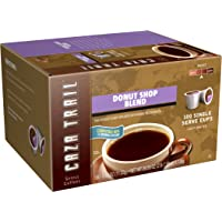 Caza Trail Coffee Donut Shop Blend 100 Single Serve Cups