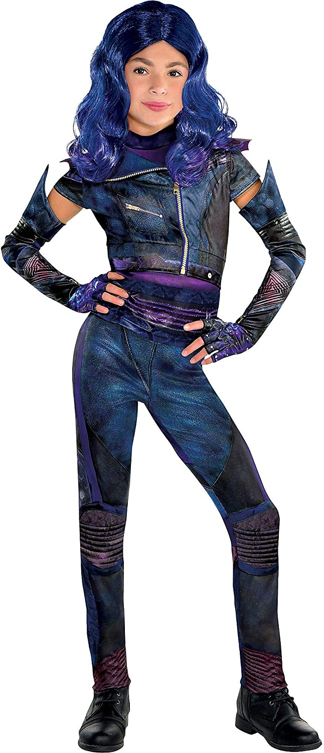 Includes Accessories Party City Mal Halloween Costume for Girls Descendants 3
