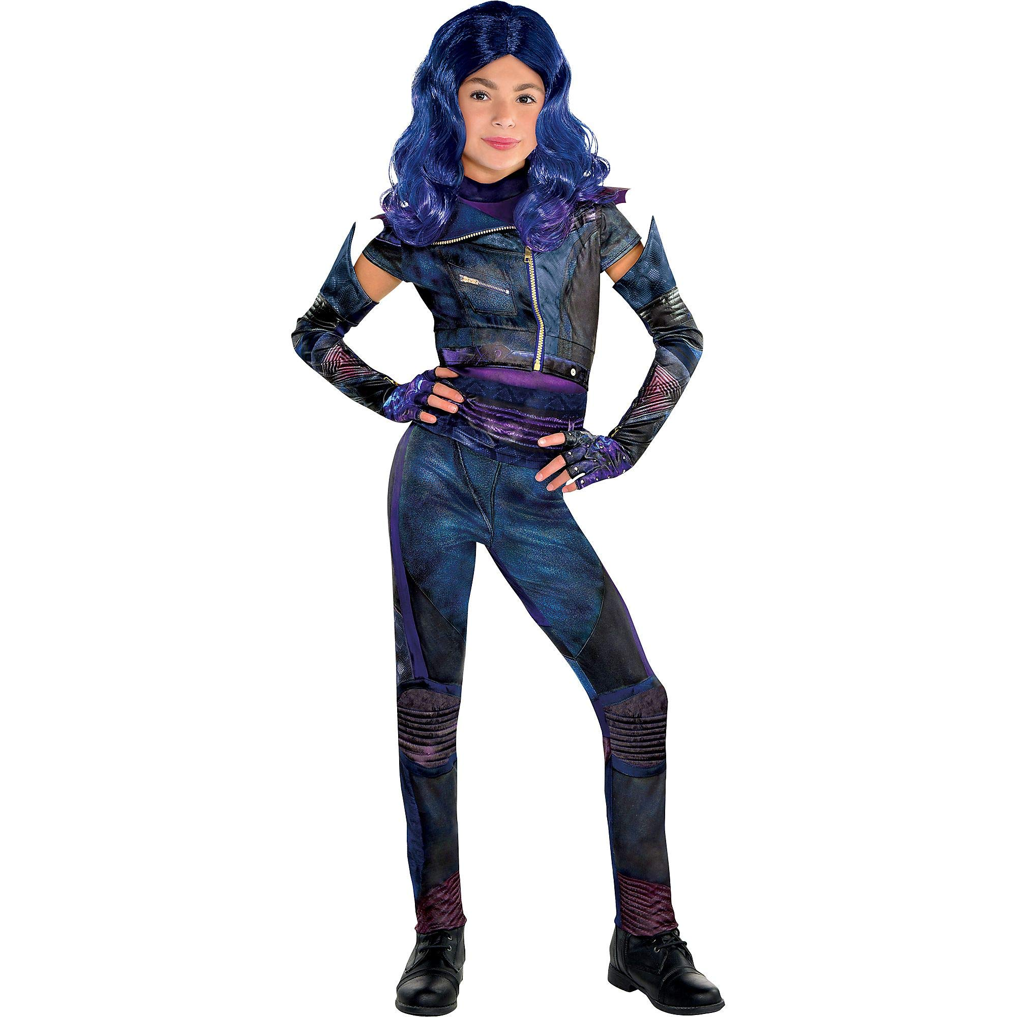 Party City Mal Halloween Costume for Girls, Descendants 3, Medium, Includes Accessories