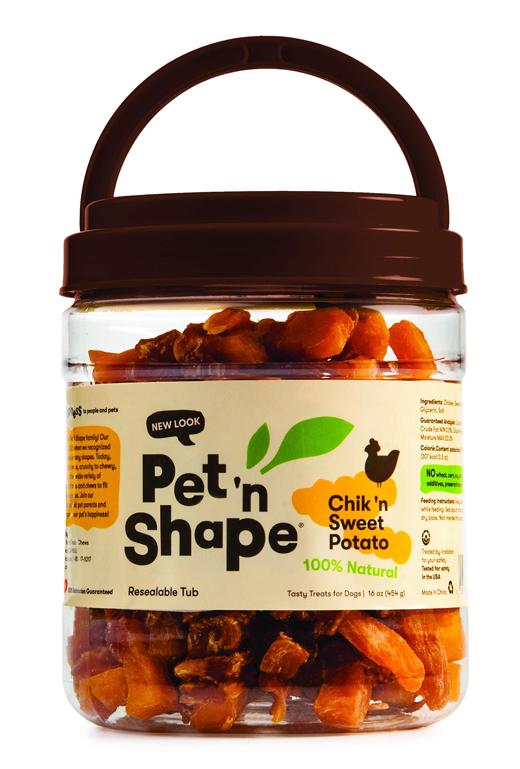 Pet 'n Shape All Natural Chicken or Duck and Sweet Potato Dog Treats
