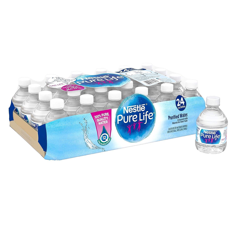Water bottles plastic