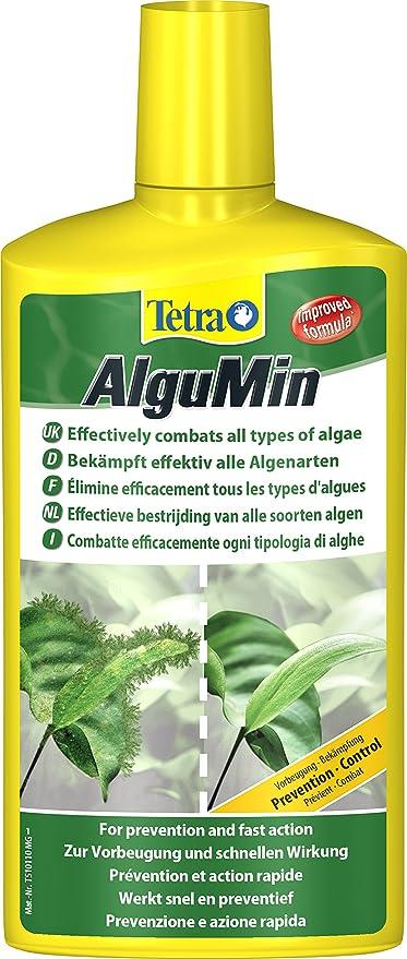 Tetra 751804 - Algumin, para el combate algas segura, a leve biológica, rápido y muy eficaz contra todo tipo de crecimiento de las algas algas, ...