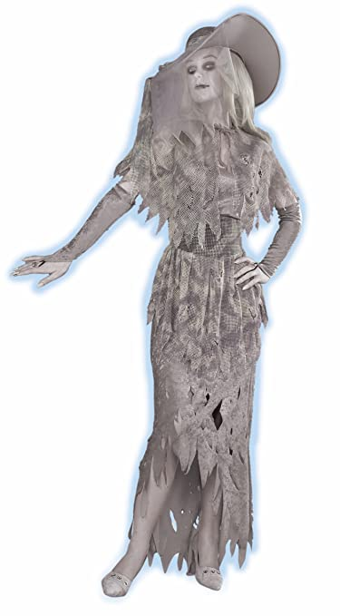 Make an Easy Victorian Costume Dress with a Skirt and Blouse Forum Novelties Womens Ghostly Gal Costume $28.11 AT vintagedancer.com