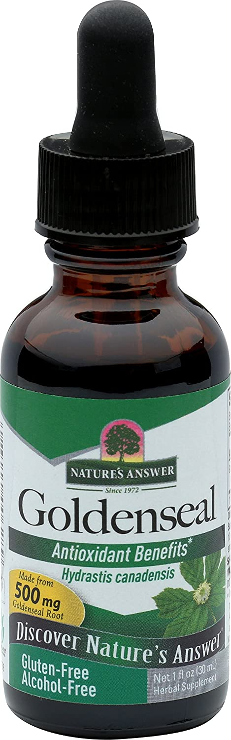Nature s Answer Alcohol Free Goldenseal Root, 1 Ounce, 2 Count