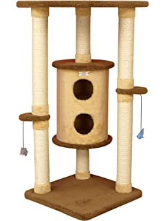Armarkat Cat Tree Furniture Condo, Height  50 Inch To 60 Inch