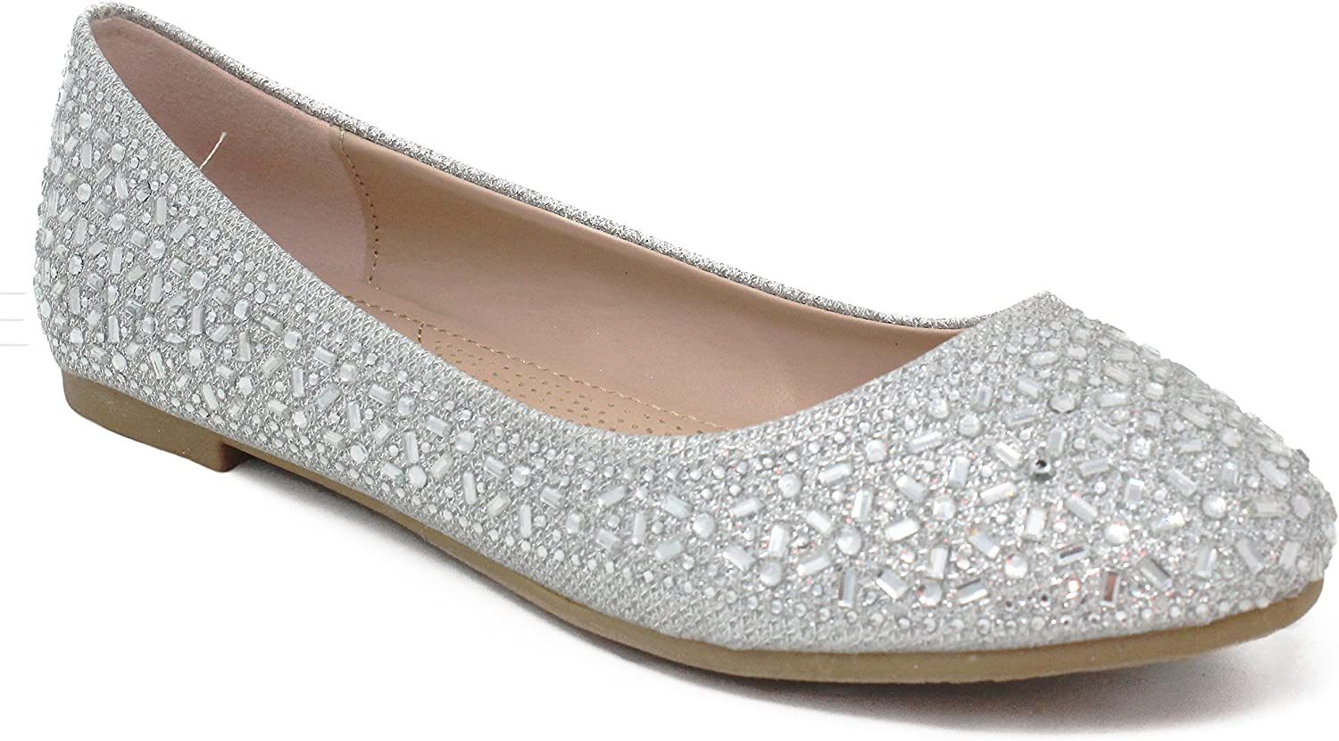 MVE Shoes Womens Comfortable Flats with Soft Insole