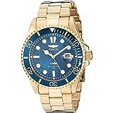 Invicta Men's Pro Diver 43mm Gold Tone Stainless Steel Quartz Watch, Gold (Model: 30024)