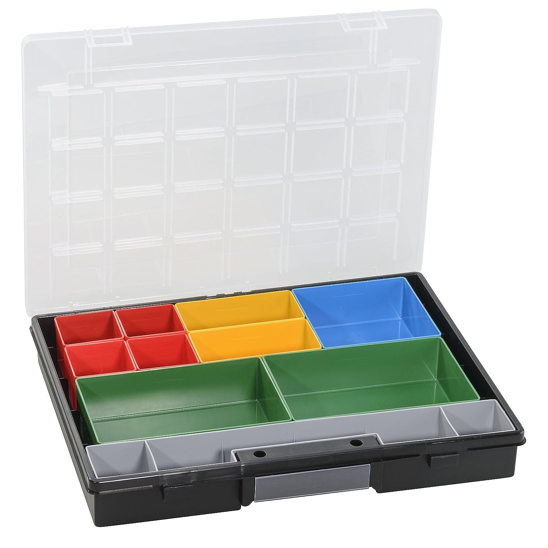Allit Europlus Flex 37–10, negro, PP, 10lose Insertos Allit Europlus Flex 37-10 457200