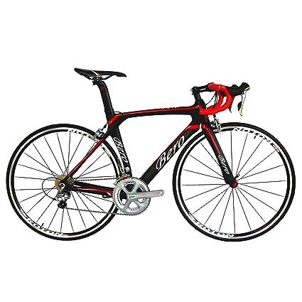Carbon Road Bike Amazon Com >> Amazon Com Beiou 700c Carbon Road Bike T800 Shimano 105 5800 22s