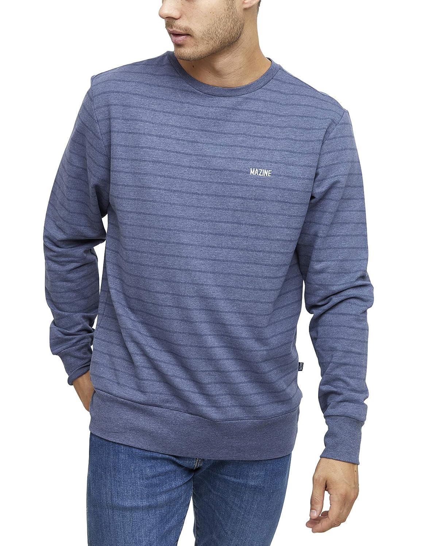 Mazine Gifford Striped Sweater - Herren Streetwear - Sweatshirt mit Gummizug