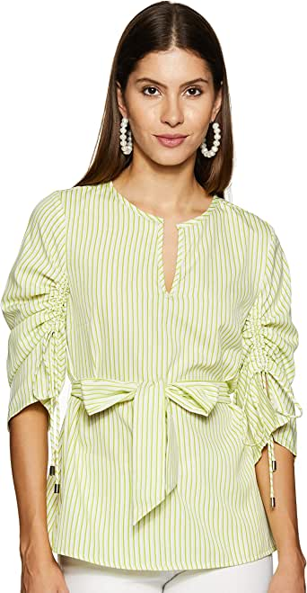 Styleville.in Women's Striped Regular fit Shirt