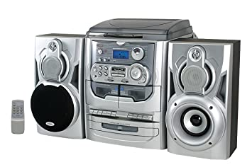 Steepletone SMC6a HiFi Music System with 3 speed: Amazon co