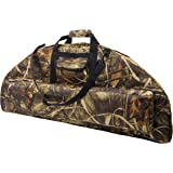 Silfrae Compound Bow Case Soft Bow Case Compound Bow Carry Bag with Arrow Pocket