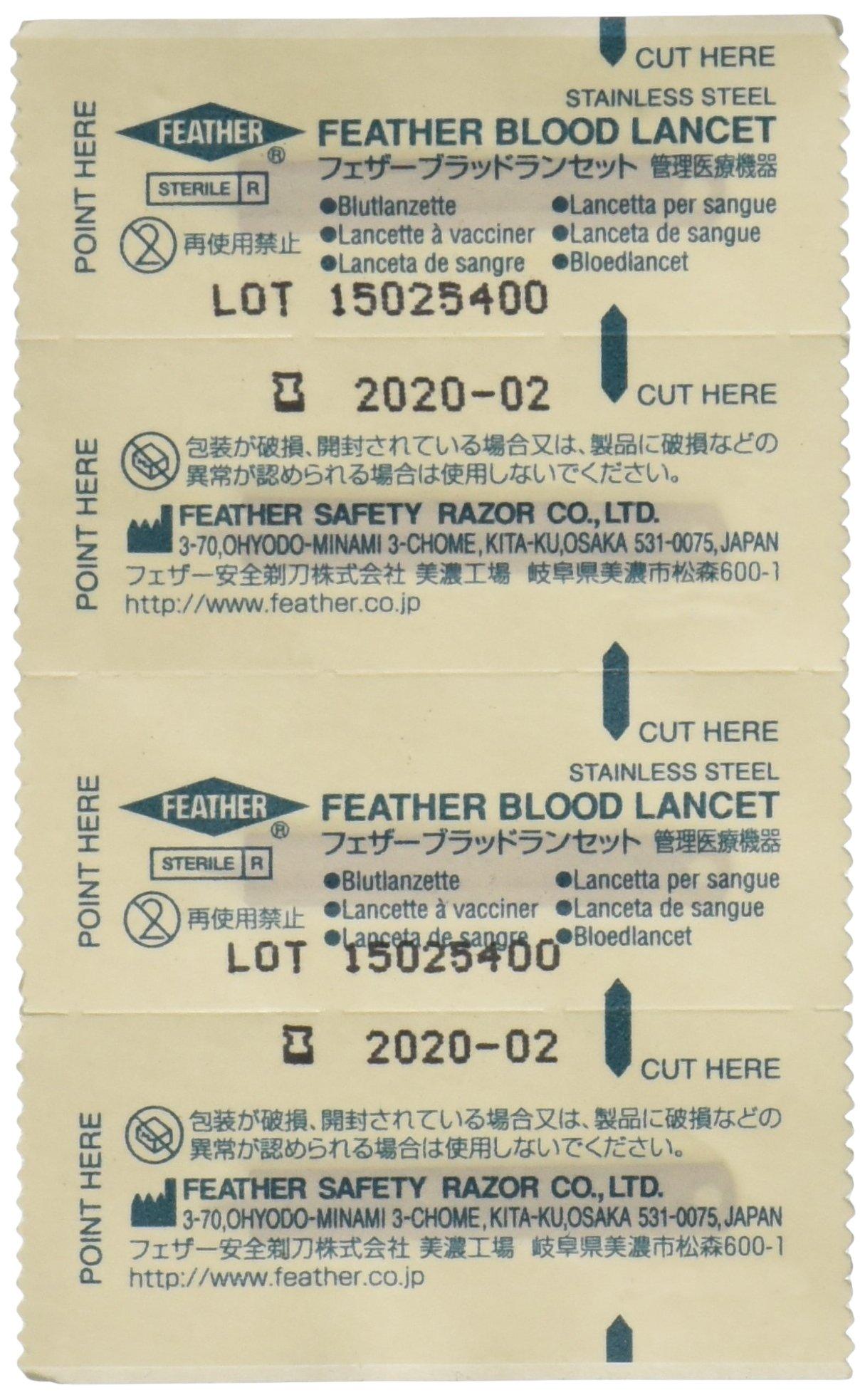 GF Health 3554 Disposable Blood Lancet (Pack of 200)