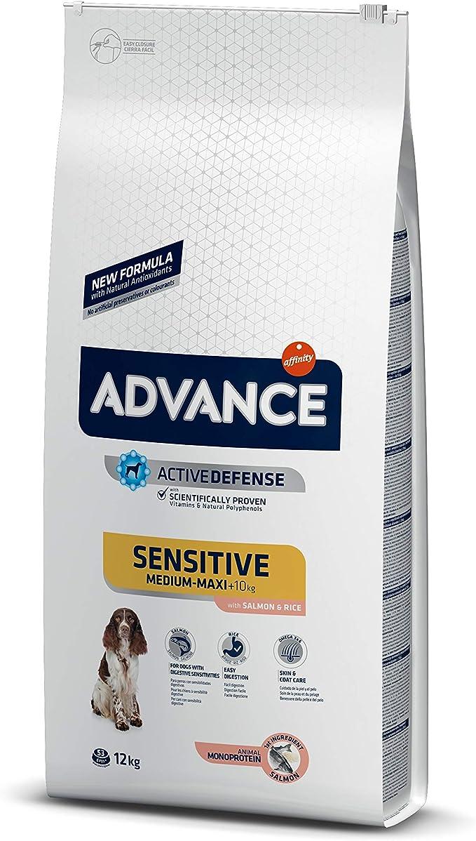 Advance Sensitive Pienso para Perro Adulto con Salmón - 12000 gr