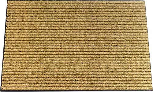 Envelor Coco Welcome Mat Coir Loop Outdoor Doormat Welcome Rubber Door Mat Outdoor Rug Coco Non Slip Mat Home Entrance Door Mat Sturdy Utility Rug Outside Entryway Mat 24 x 36 Inches, Coir Loop
