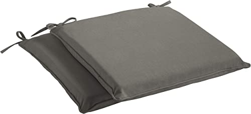 Mozaic Sunbrella AMCS113992 Indoor/Outdoor Cushion Corded Chair Pad Set