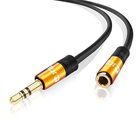 IBRA® 7.5m Stereo Jack Extension Cable 3.5mm Male > 3.5mm Female