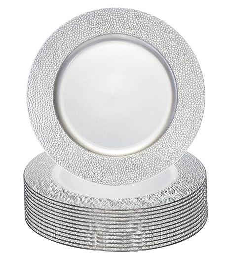 Simply Home USA - Cargador de placa (33 cm, 12 unidades ...