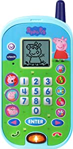 VTech 80-523100 Peppa Pig Let's Chat Learning Phone