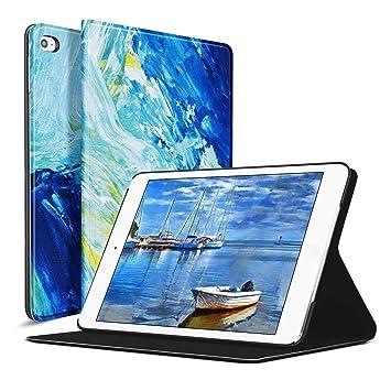 Ayotu Funda para iPad Mini 4 (A1538 / A1550) 7.9 Pulgadas 2015 Release Tablet, con Funda Protectora Inteligente con activación/suspensión automática - ...