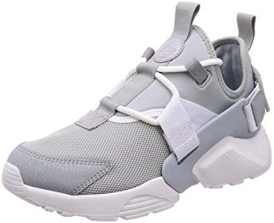 half off ddc9e 70933 Nike Women s Huarache City Low Wolf Grey White