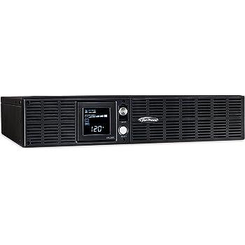 amazon com cyberpower pr1500lcdrtxl2u smart app sinewave ups system rh amazon com PR1500 Software Programming PR1500 Used