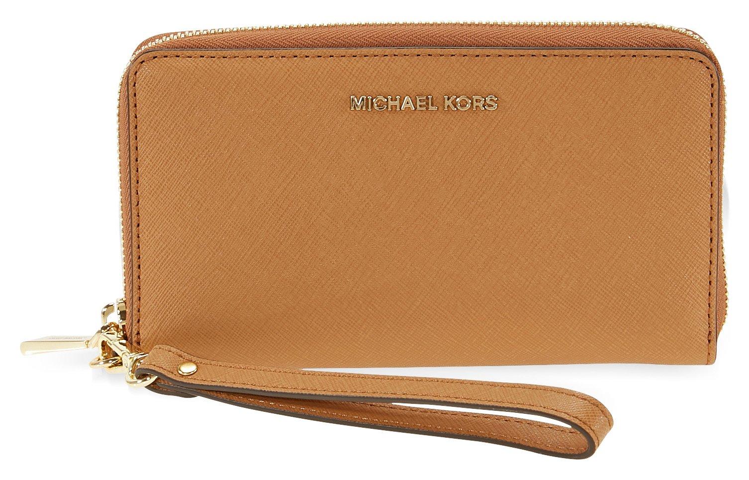 Michael Kors Jet Set Travel Large Smartphone Wristlet - Acorn