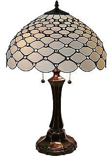 Amora Lighting AM028FL12 Tiffany Style Jeweled Reading Floor Lamp ...
