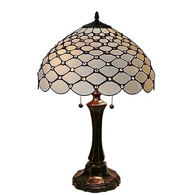 Amora Lighting Tiffany Style Chandelle Table Lamp, 26