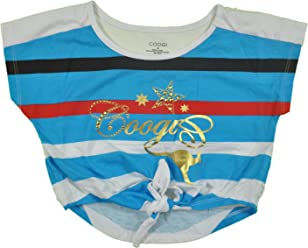 COOGI Girls Shirt With Tie Front Closure