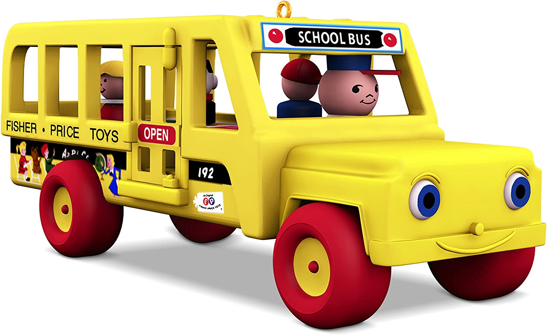 Hallmark 2018 School Bus Miniature Ornament