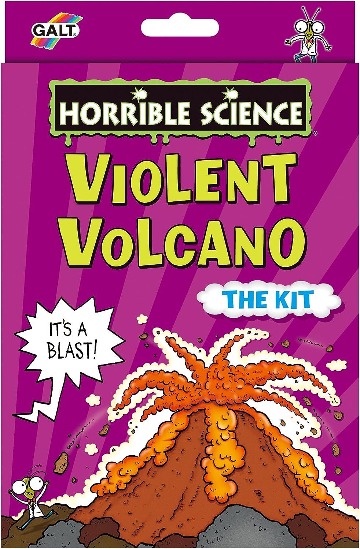Galt Horrible Science 1105236 - Juego de creación de volcán: Amazon.es: Juguetes y juegos
