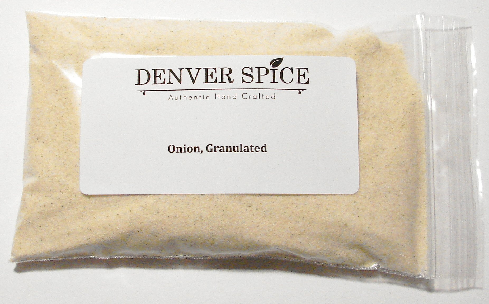 Granulated Onion, Dehydrated - 2 Pounds - Fine Cut (Non-Powder) Bulk Dried Onion