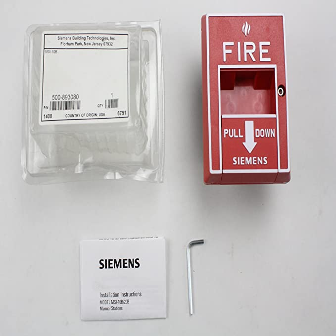 Siemens msi-10b 500 - 893080 MXL IXL XL3 estación manual de ...