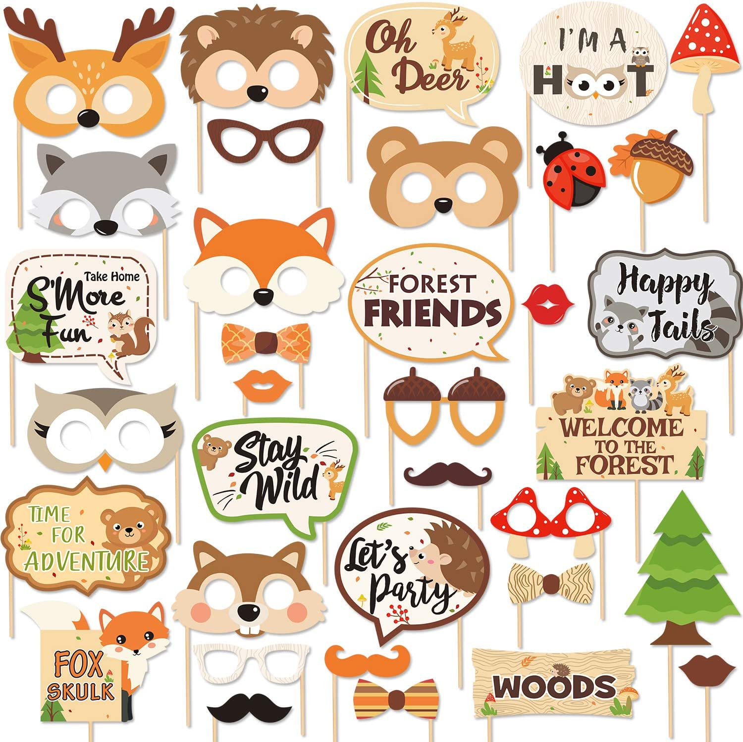 Forest Animals And Woodland Theme Creature Party Supplies For Boys Or Girls Baby Shower Welcome Baby Banner Woodland Baby Shower Decorations Woodland Baby Shower Banner Banners