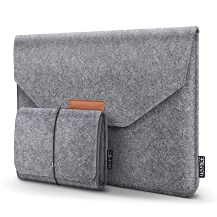 347ea6943cc3 HOMIEE 15 Inch MacBook Pro Sleeve Felt Laptop Sleeve Case for 15 Inch  MacBook Pro 2015-2018 and Other Ultra Slim Laptops Notebooks