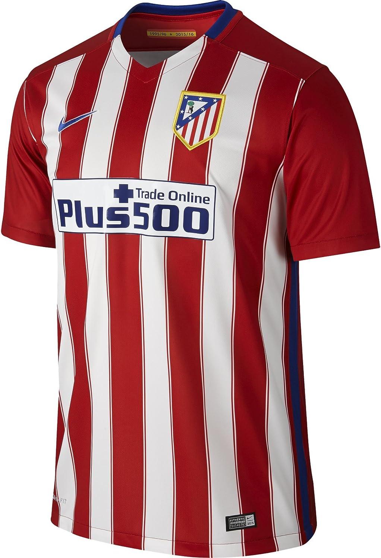 1ª Equipación Atlético de Madrid 2015/2016 - Camiseta oficial Nike: Amazon.es: Ropa y accesorios