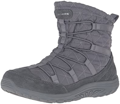 Skechers Women's Reggae Fest Steady Quilted Bungee Ankle