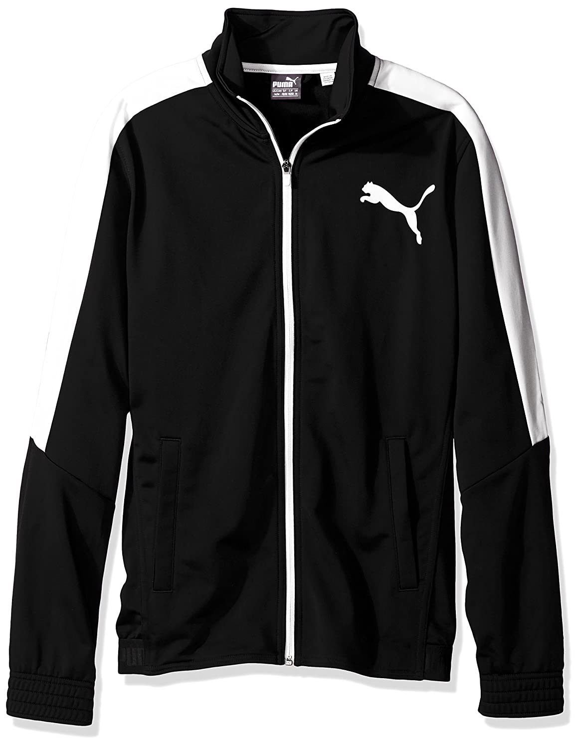 PUMA mens Contrast Jacket Puma Men' s Athletic