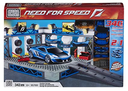 Mega Bloks McLaren Custom Garage, Multi Color