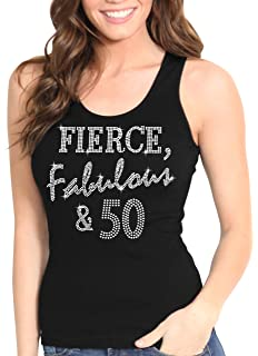 50 Classic Fifty Birthday Age Years Old Party Turning Celebrate Girls Tank Top