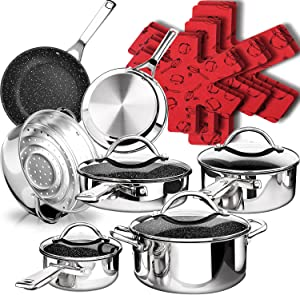 10 Best Cookware Set Under 100 Dollars You Can Buy in 2021! 5