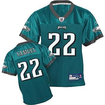 online store 869f2 b31da Amazon.com : Reebok Philadelphia Eagles Asante Samuel Boys ...