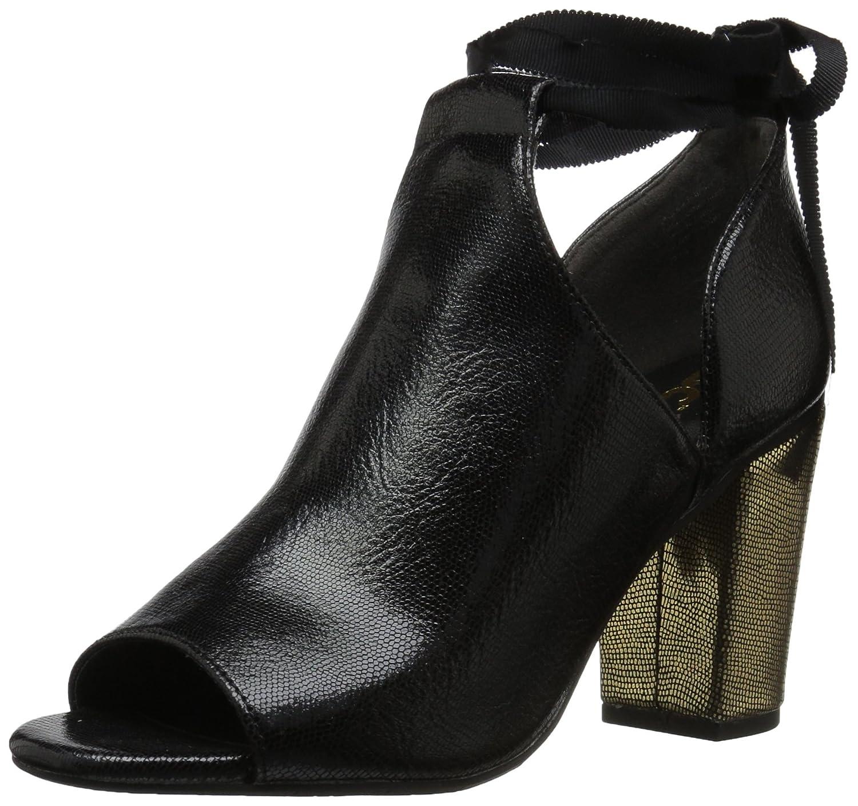 BC Footwear Women's Set Me Free Ankle Boot B0744PQVWX 6 B(M) US Black/Gold