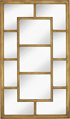 Amazon Com Extra Large Iron Mosaic Wall Mirror Panel