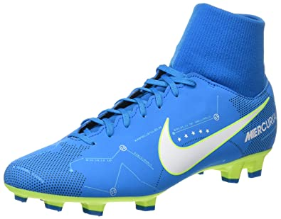 timeless design 0ac52 0ac24 Nike Mercurial Victory VI DF NJR FG, Chaussures de Football Homme,  Turquoise White