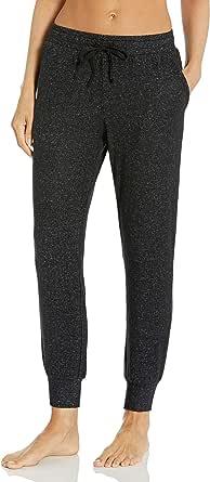 Amazon Essentials Women's Cozy Knit Ankle Length Pajama Jogger Pant