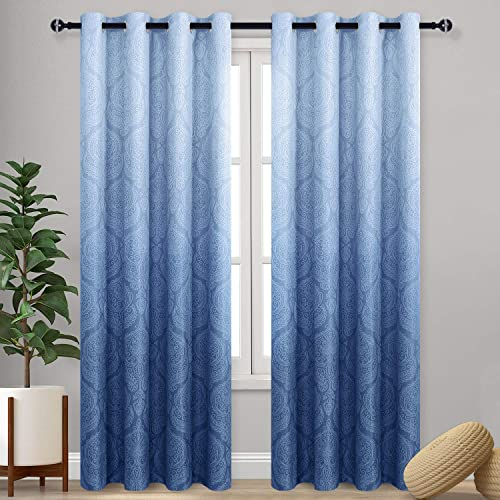 DWCN Ombre Blackout Curtains